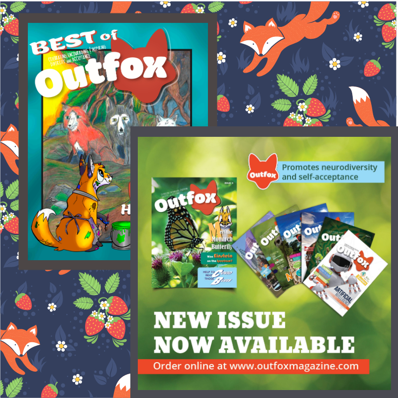 Outfox Magazine and Best of Outfox book available